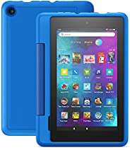 """Fire 7 Kids Pro tablet, 7"""" display, ages 6+, 16 GB, Sky"""
