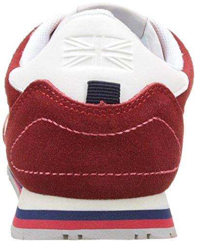 Pepe Jeans London Sydney Color, Zapatillas para Niños Rojo (Pepper Red)