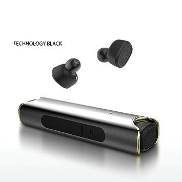 AIQQ Auricular Bluetooth Auriculares Inalámbricos 4.2-Portable ...
