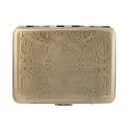 RFID Blocking Credit Card Holder/Protector - Best Metal/Stainless Steel Travel covid 19 (Id Credit Card Cigarette Case coronavirus)