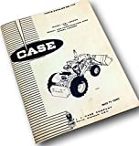 J I Case Model 26 Loader For Model 480 Ck Loader Tractor Parts Catalog Manual