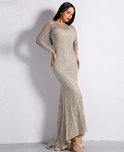 Damen Damen Damen Cocktail Missord Kleid Silber Silber Missord Kleid Cocktail Damen Missord Cocktail Silber Missord Kleid fqAatxE
