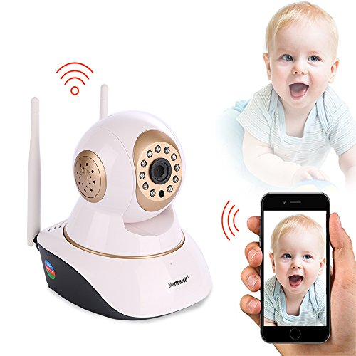 martheroll video baby monitor hd 720p video recording with two way audio and infrared night. Black Bedroom Furniture Sets. Home Design Ideas
