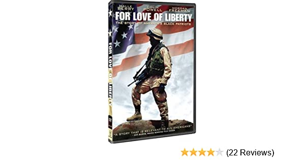Amazon Com For Love Of Liberty Halle Berry Colin Powell