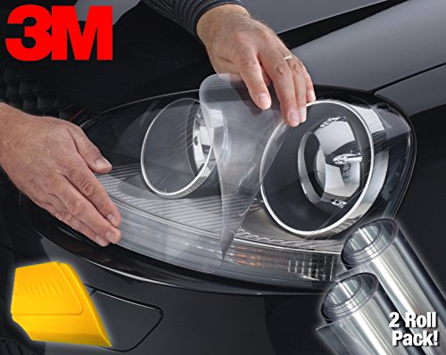 VViViD 3M Clear Extra-Wide Headlight Protective Scratch-Proof Wet-Apply Tint Vinyl Wrap Film 15