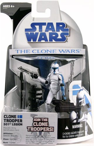 (Clone Wars 501st Legion Clone Trooper Exclusive)