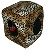 Comfort Pet Products Kitty Cubbyhole, Leopard, My Pet Supplies