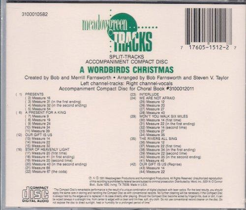 A Wordbirds Christmas ~ Split Track Accompaniment CD for Choral (Christmas Split Track Accompaniment Cd)