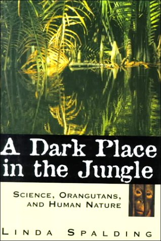 A Dark Place in the Jungle (G K Hall Large Print Book Series)