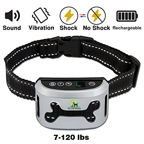 Pro Pet Works Bark Collar By [2018 SMART CHIP] No