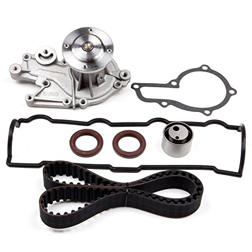 - ECCPP Timing Belt Water Pump Kit Fit for 1996 1997 Geo Metro 1998 1999 2000 Chevrolet Metro 1.0L