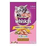 Whiskas Dry Food for Cats - Kitten - 1.5 kg