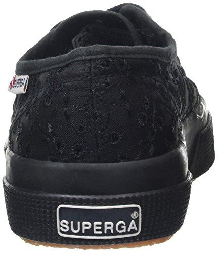 Superga 2750 Femme Sangallosatinw black Noir Sneakers Basses wTqgrAw