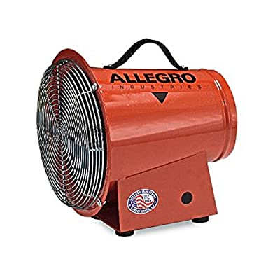 Allegro Industries 9506 DC Blower, 12V, Axial Style