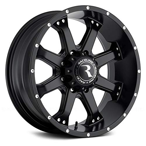 Raceline Assault 16 Black Wheel / Rim 6x5.5 with a for sale  Delivered anywhere in USA
