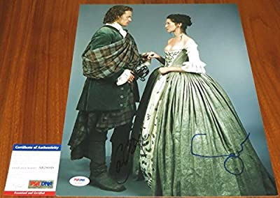 Caitriona Balfe And Sam Heughan Signed 11X14 Outlander Claire Jamie -
