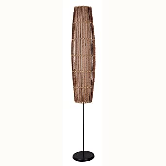 Ore international 31140f rattan floor lamp amazon ore international 31140f rattan floor lamp mozeypictures Choice Image