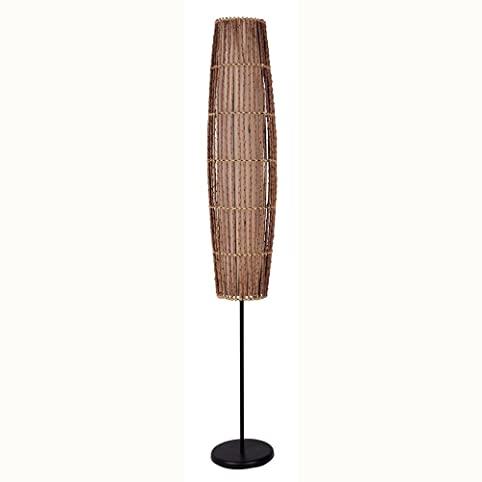 ORE International 31140F Rattan Floor Lamp