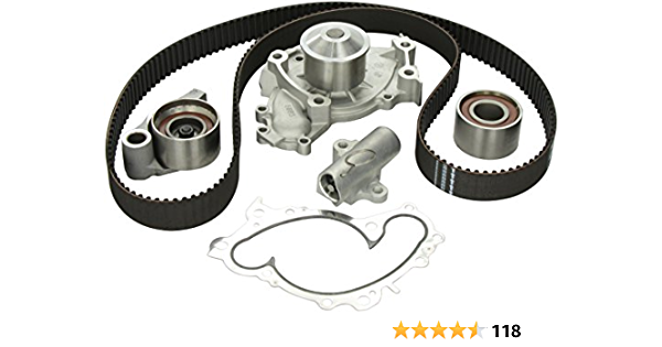 Online Automotive TBWPLRDIS27D 3001 Timing Belt Kit with Water Pump