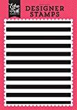 Echo Park Paper Company SF125046 Cabana Stripe A2 Background Stamp