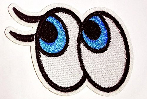 Cute Eye Patches of Applique Embroidered patches - Iron on Patches by 3A1Y (City Of Cincinnati Halloween)
