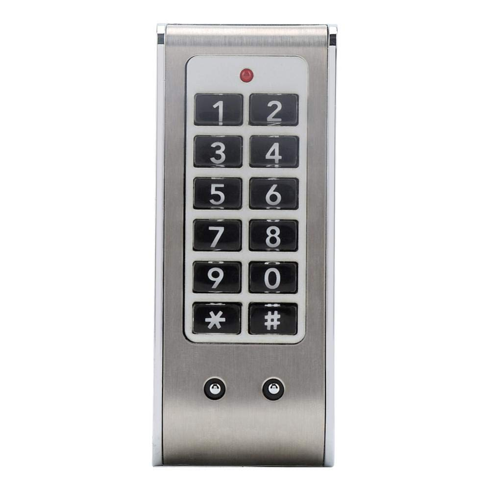 Touch Keypad Electronic Cabinet Lock Password Access Lock Digital Security Cabinet Coded Locker for Access Control System
