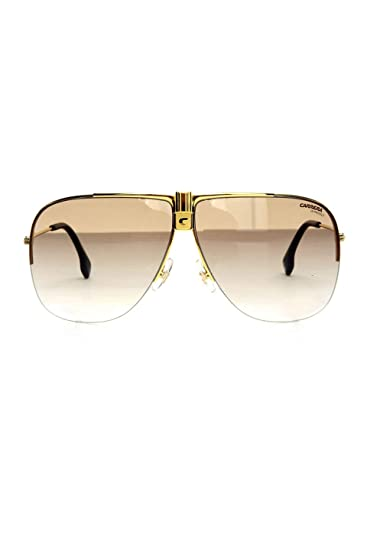 5d546face6 Carrera CARRERA 1013 S 001 Yellow Gold CARRERA 1013 S Pilot Sunglasses Lens  Cat  Amazon.co.uk  Clothing