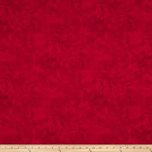 P & B Textiles Premier Vintage Solid Vintage Solid Red Fabric by The Yard -  26764-4737-RED1