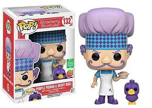 Funko Pop Strawberry Shortcake #132 Purple Pieman Berry Bird Summer Convention Exclusive