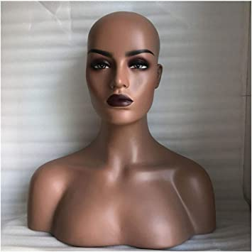 New Realistic Female Mannequin Head Bust For Lace Wig,Sunglasses//Jewelry Display