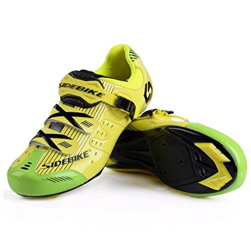 Chaussures De Vélo Route Homme Noir Femme Chaussure Skyrocket Flyling Sd002 Et Cyclisme Jaune qa1nfE