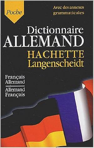 Télécharger en ligne Dictionnaire Français/Allemand Allemand/Français pdf