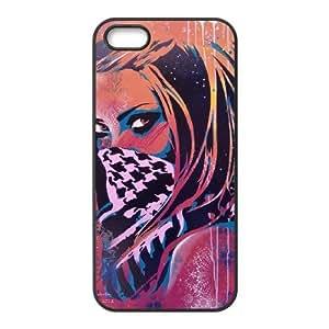 Graffiti Case For iPhone 5,5S Black Nuktoe720326