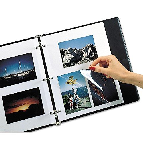 (C-Line 85050 Redi-Mount Photo-Mounting Sheets, 11 x 9, 50/Box)