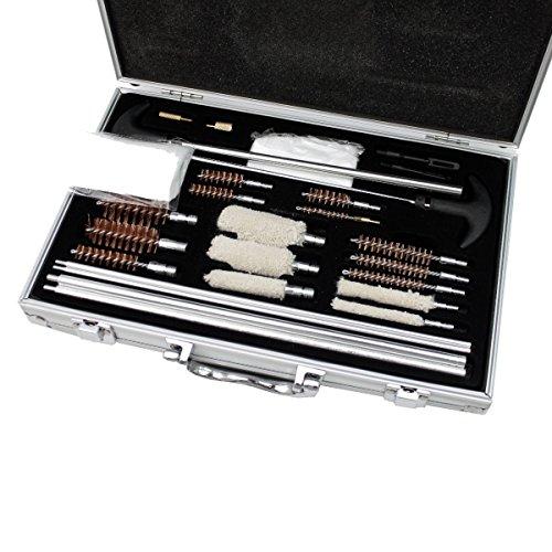103pcs Pro Universal Gun Cleaning Kit Pistol Rifle Shotgun Firearm Cleaner