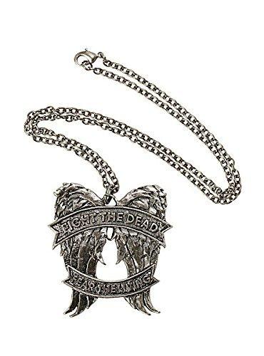 The Walking Dead Angel Wings Fight The Dead Pendant Necklace