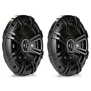 (2) Kicker 43DSC6504 6.5-Inch 4 Ohm Coaxial Car Speakers - (2) Pairs