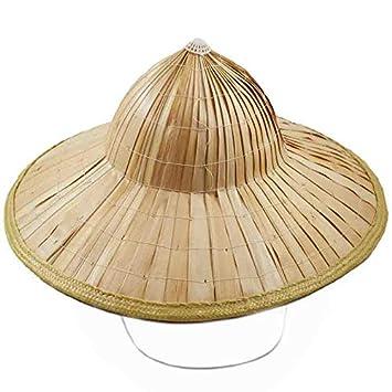 Sombrero Vietnamita Bambú Disfraz: Amazon.es: Juguetes y juegos