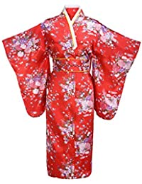 20958d75da Women s Silk Traditional Japanese Kimono Robe Bathrobe Party Robe