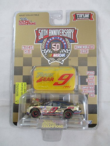 Nascar 50th Anniversary Jeff Burton #9.Gold Commemorative Series 1:64 Die Cast - Rose Gold Champion