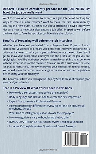 job interview preparation the ultimate resource to get the job you really want job hunting job interviewing gary cooper 9781507776469 amazoncom - After Job Offer Questions To Ask