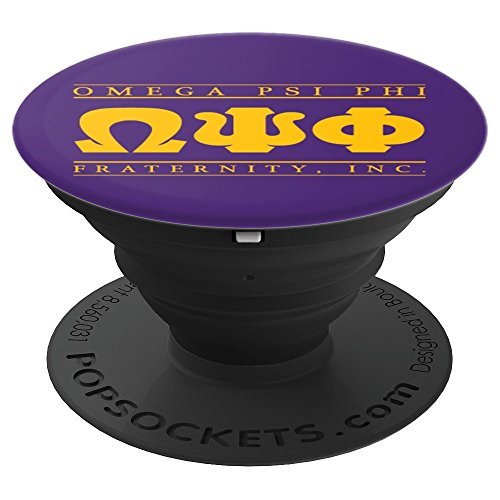 Omega Psi Phi Fraternity, Inc. - PopSockets Grip and Stand for Phones and ()