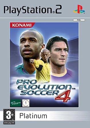 Pro Evolution Soccer 4 Platinum (PS2): Pro Evolution Soccer