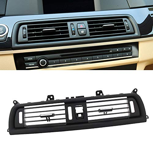 FEXON Front Air Grille AC Vent,For BMW 5 Series Interior Central Air Vent Dashboard Console Center AC Ventilation 520 523 525 528 530 535 550 F10 F18 2010-2016