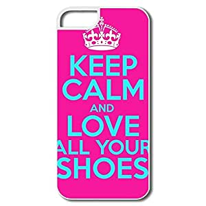 Durable Love Shoes Hard Cover For IPhone 5/5s