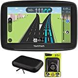 TomTom VIA 1625TM 6' Touchscreen GPS Navigation Device Lifetime Maps w/Case and Mount