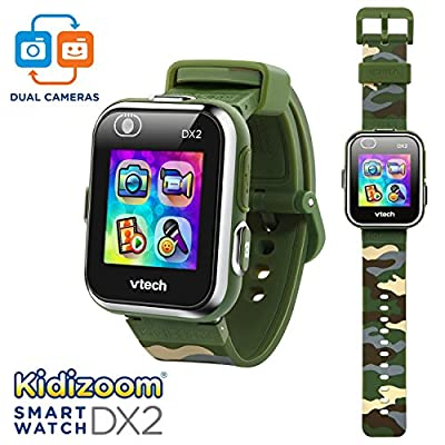 VTech KidiZoom Smartwatch DX2 Camouflage ( Exclusive): Toys & Games