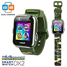 VTech KidiZoom Smartwatch DX2 Camouflage (Amazon Exclusive)