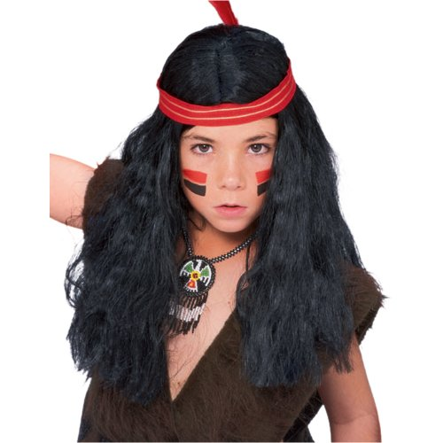 Rubies Child's Native American Boys Costume Wig