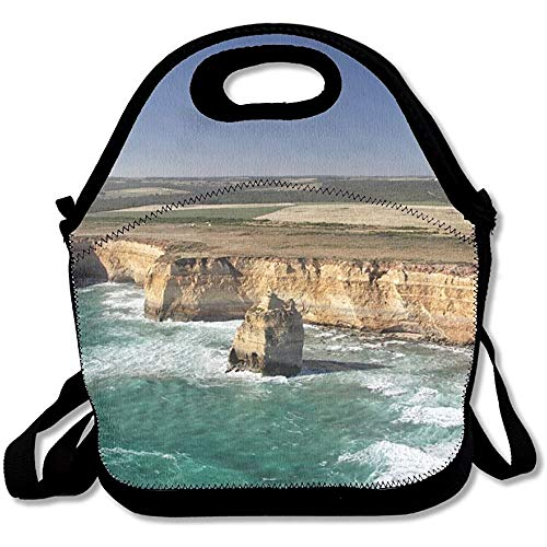 (FZYN Aerial View Of The Twelve Apostles At The Great Ocean Road In The Port Campbell National Park Latest Lunch Tote Lunch Bag Outdoor Picnic Reusable)